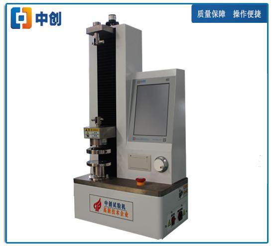 500N电子自动弹簧拉压试验机