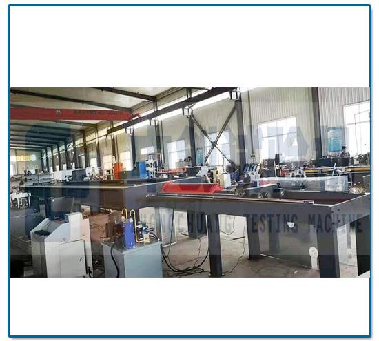 200kN碳素钢丝绳破断力试验机