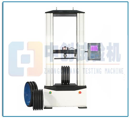 玻璃纤维塑料电缆管环刚度试验机