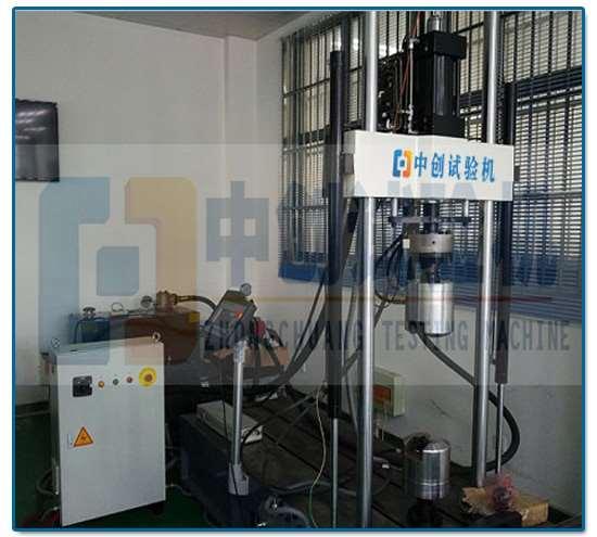 电液伺服拉、弯、扭复复合疲劳试验系统