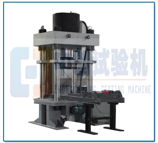 微机控制电液伺服弹簧压力测试仪