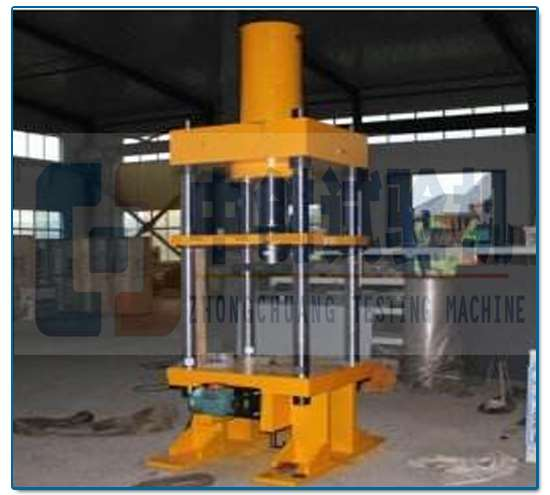 300KN大型碟簧压力试验机