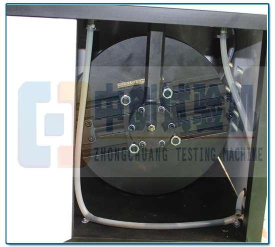 悬架簧疲劳试验机偏心轮带动测试原理