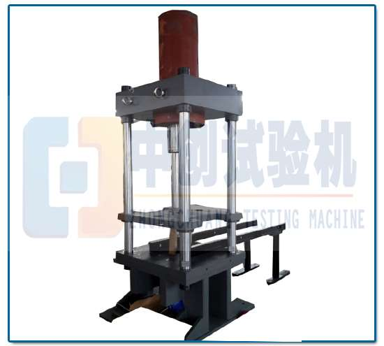 液压弹簧压力机 主机结构